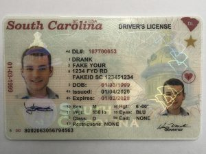 Example of a good fake id.